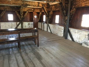 Observation room in the South tower