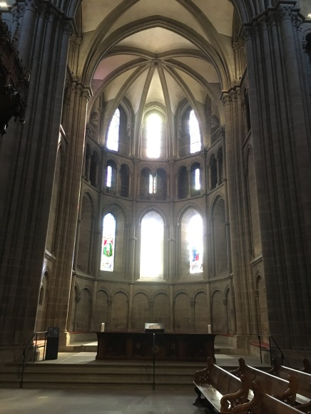 View of the choir from the nave