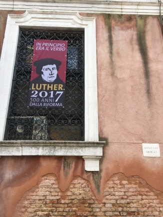 Luther 2017 in Venice, Italy