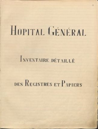 Arch. hosp. finding aid